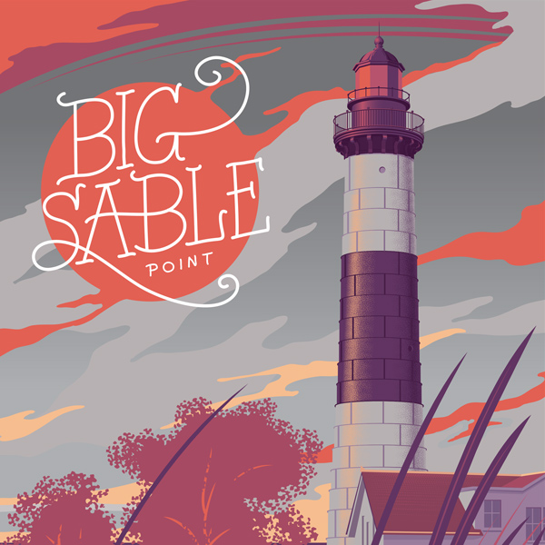 Big Sable Michigan Art Print