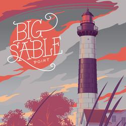 Big Sable Michigan Art Print