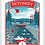 Thumbnail: Petoskey - Michigan Travel Art Print
