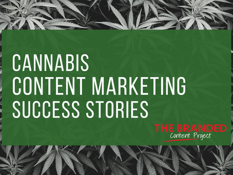 Publishers focused on cannabis content marketing have revenue rollin' in