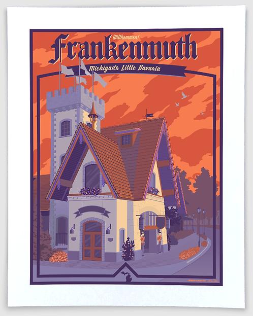 Frankenmuth - Michigan Travel Art Print