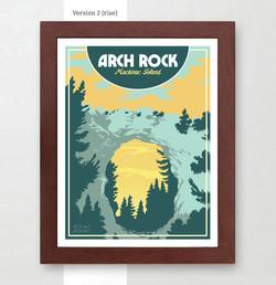 Arch Rock Mackinac Island Art Print