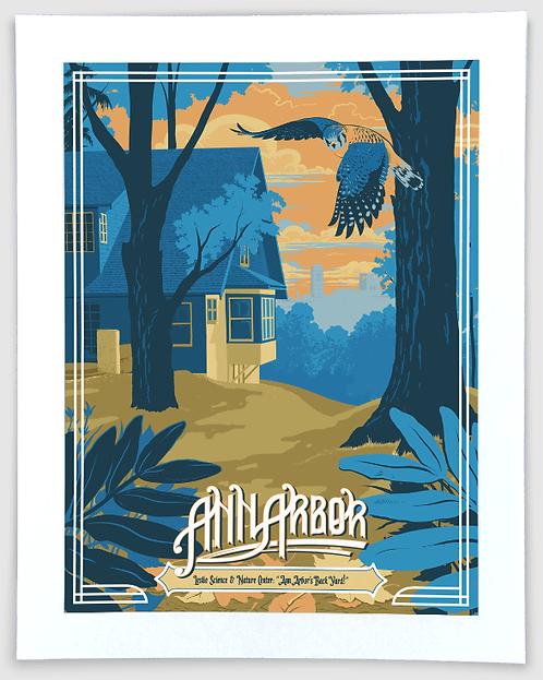 Ann Arbor - Leslie Science & Nature Center - Travel Art Print