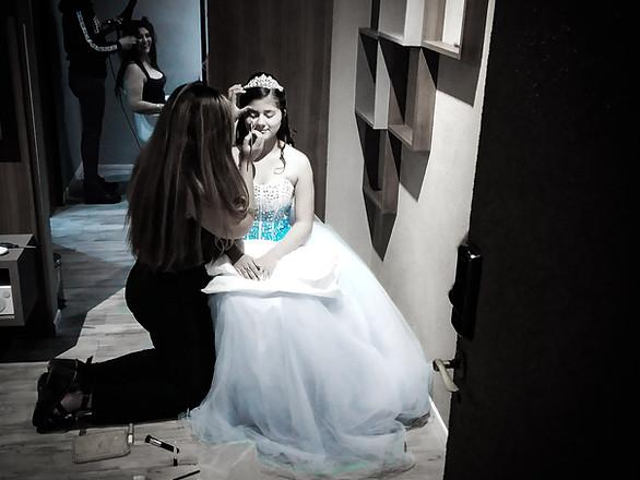 Anto fue princesa en su noche