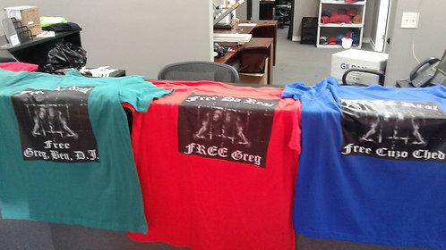 """""""Free Da Real"""" T-shirt"""