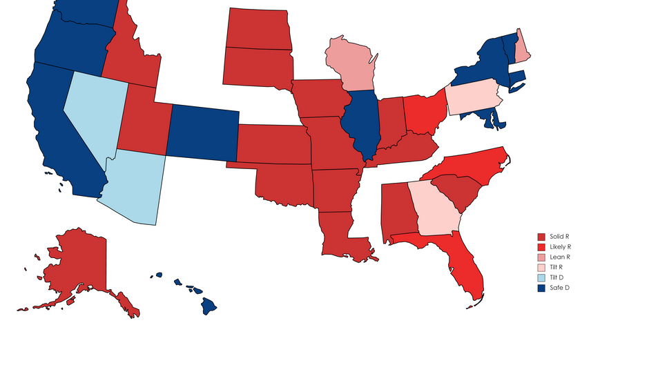Republican surge: 2022 Senate Election Ratings - September 2021