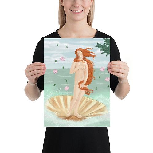 Print - The Birth Of Venus