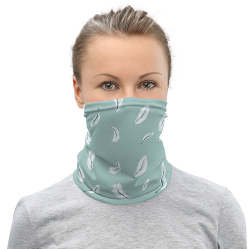 Neck Gaiter - Feather Pattern