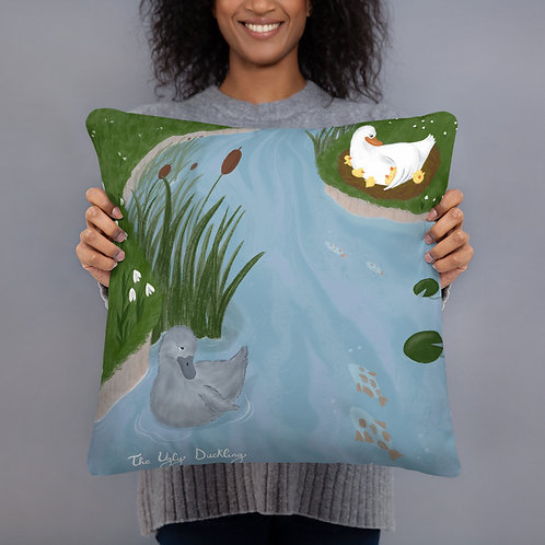 The Ugly Duckling Pillow
