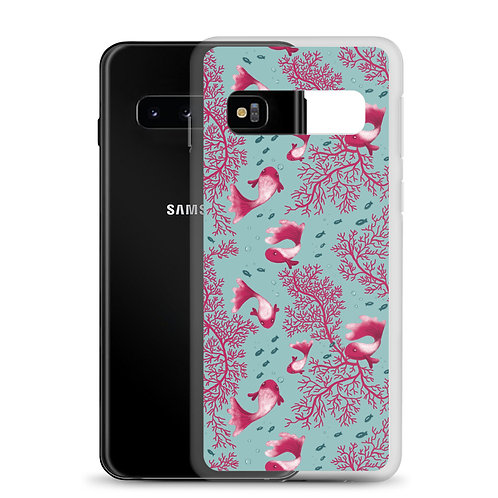 Samsung Case - Fish Pattern