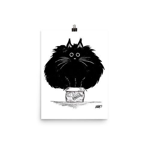 Cat in a Box Print