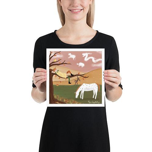 Print - Pippi Longstocking