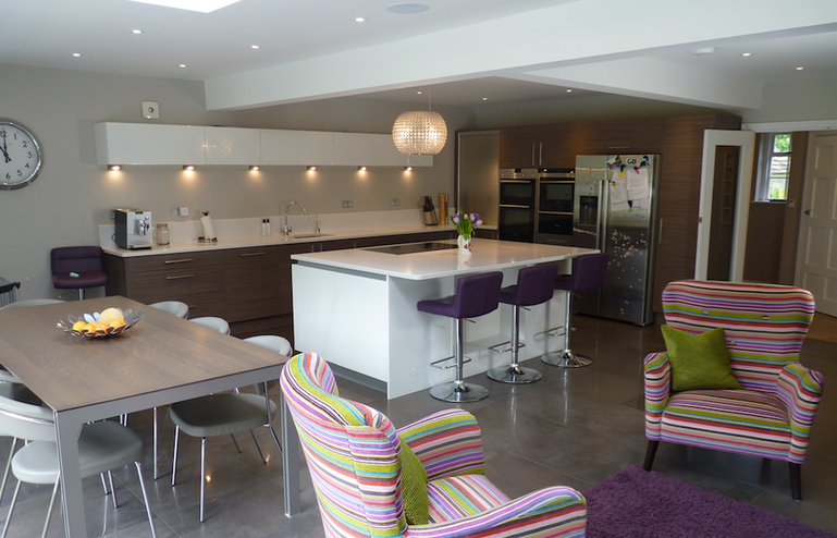 Kitchen design, supplied and installed by Fusion
