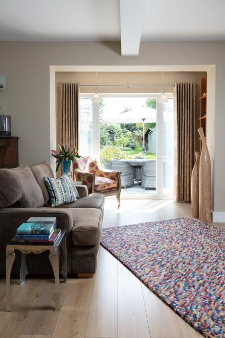 Eclectic lounge in Epsom Surrey