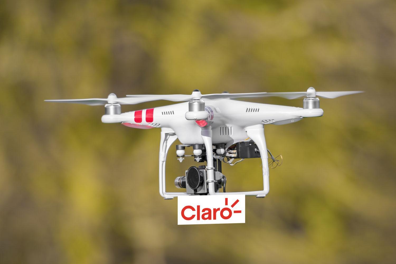 Publicidad en dron