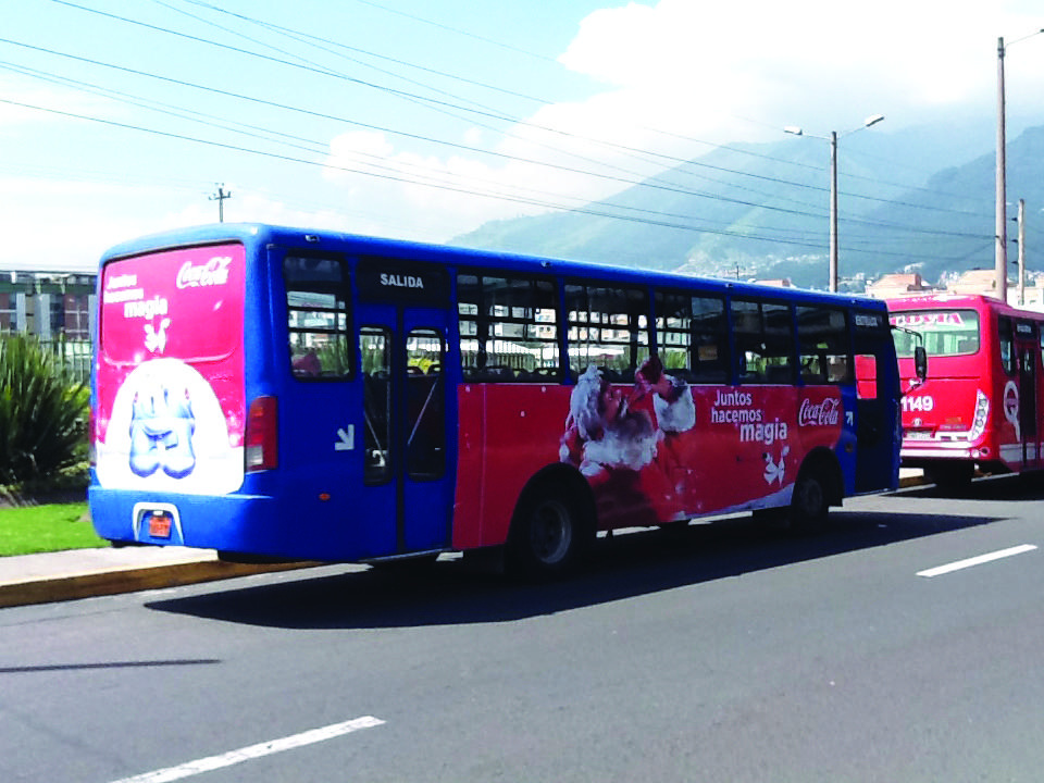 Publicidad en bus