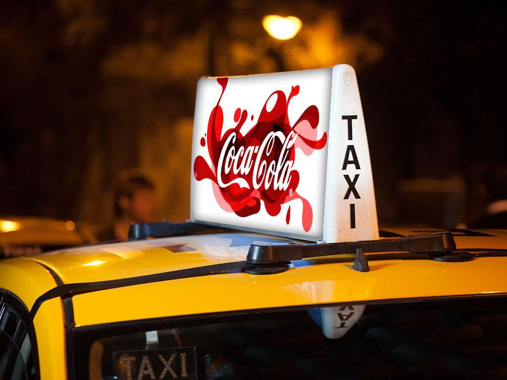 publicidad taxi