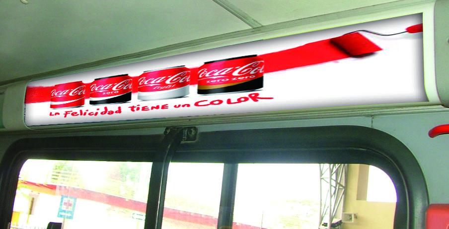publicidad interna bus