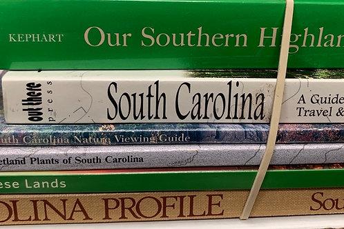 Local history- South Carolina, nature & plants, assorted