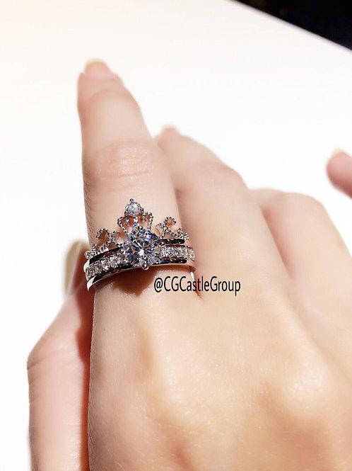 CG 2In1 👑Tiara Ring