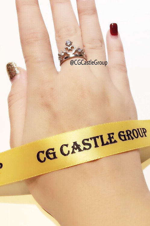 CG Heart Shape ❤️ Single Layer Tiara Ring