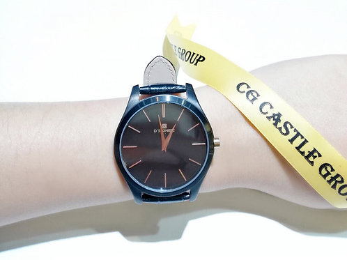 CG Couple Minimalist Watch Full Black