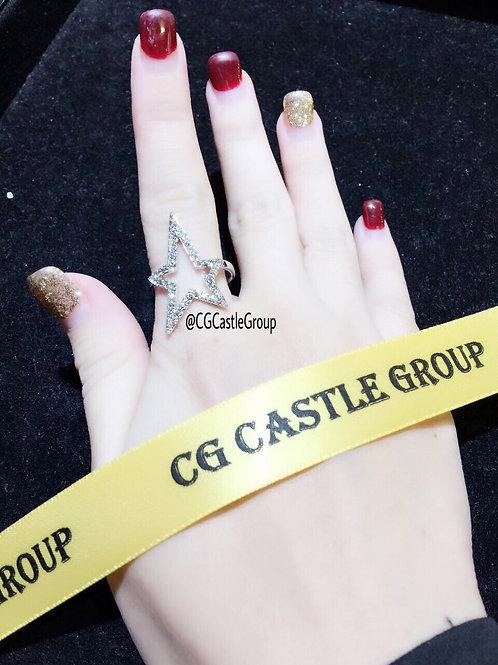 CG Star ⭐️ Shape Ring Silver