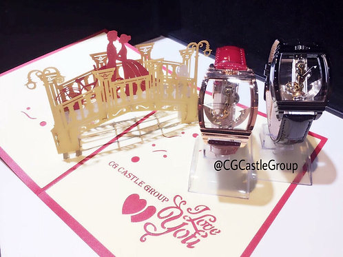 CASTLE See-Through Automatic Watch