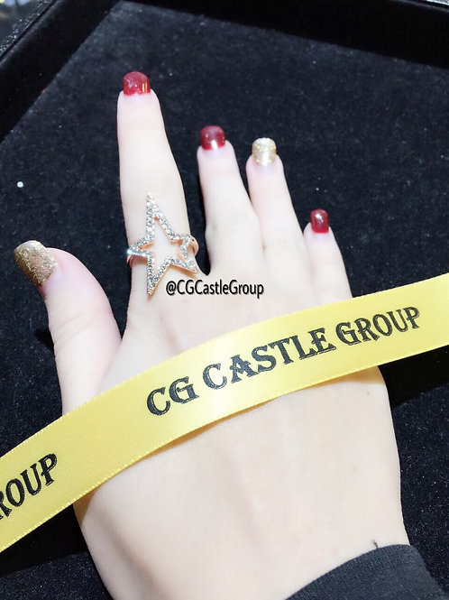 CG Star ⭐️ Shape Ring Rosegold
