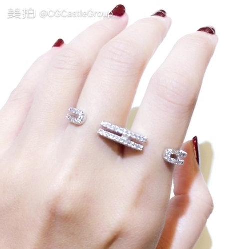 CG Double Finger Ring