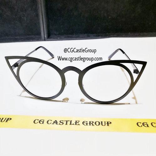 CG Adult Owl Sunglass Black Frame/Transparent Lens