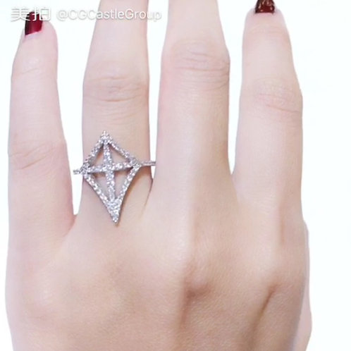 CG 1 Layer Sharp Pointed Ring