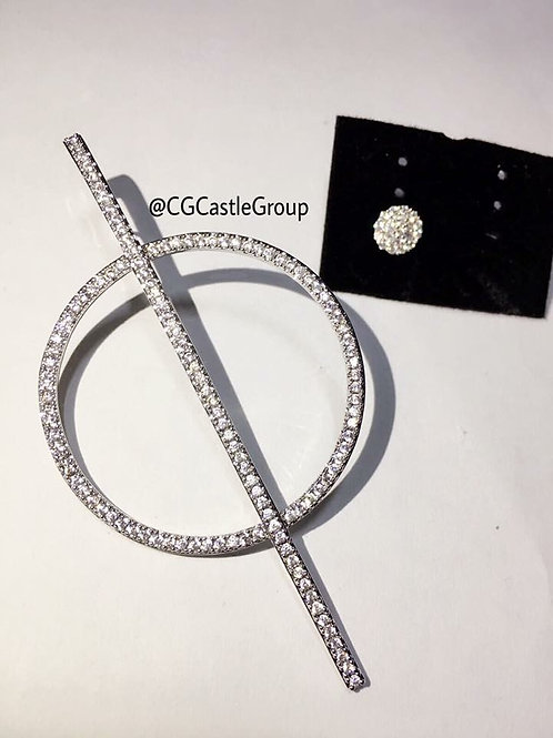 CG Long Short 中 Earring
