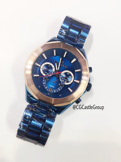 CG Masculine Chain Blue/Rosegold Watch