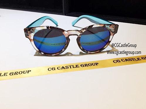 CG Adult Korean Blue Lens/Turquoise Temple