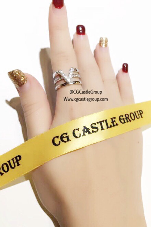 CG V Ring Silver