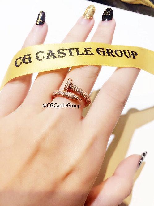 CG Nail Crystal Ring