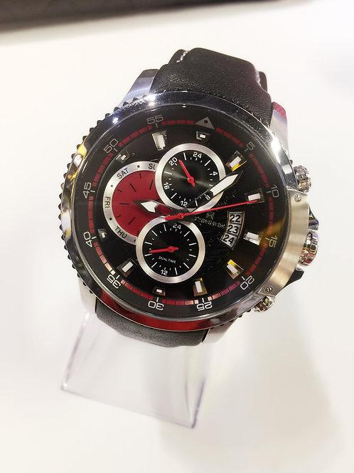 CG Zig Zag Watch Black/Red