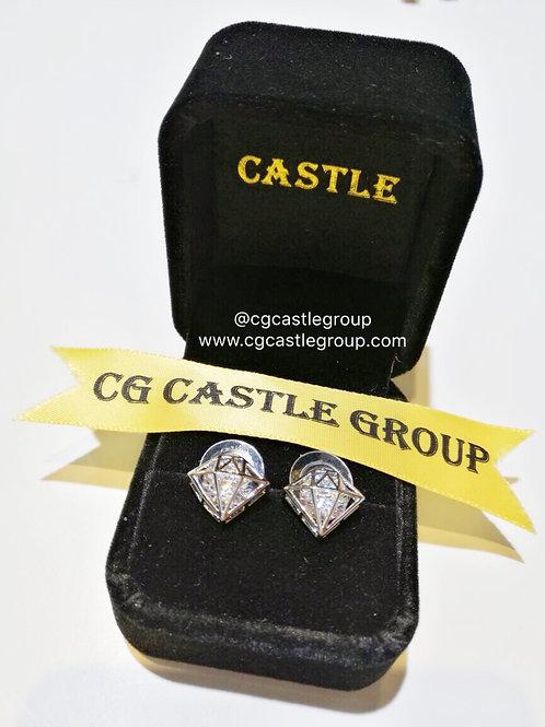 CG Diamond 💎 Shape Earring