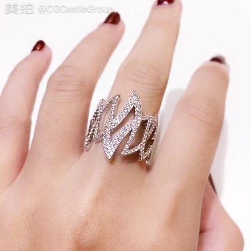 CG Zigzag Ring