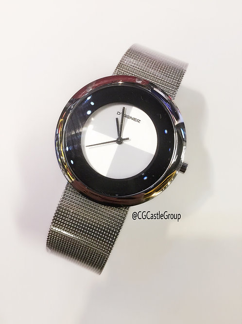 CG Mesh Band Watch Silver