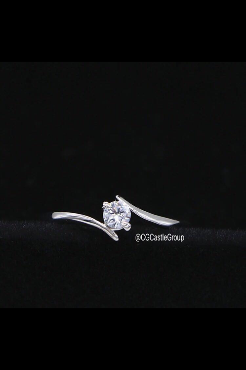 CG Small Solitaire Ring