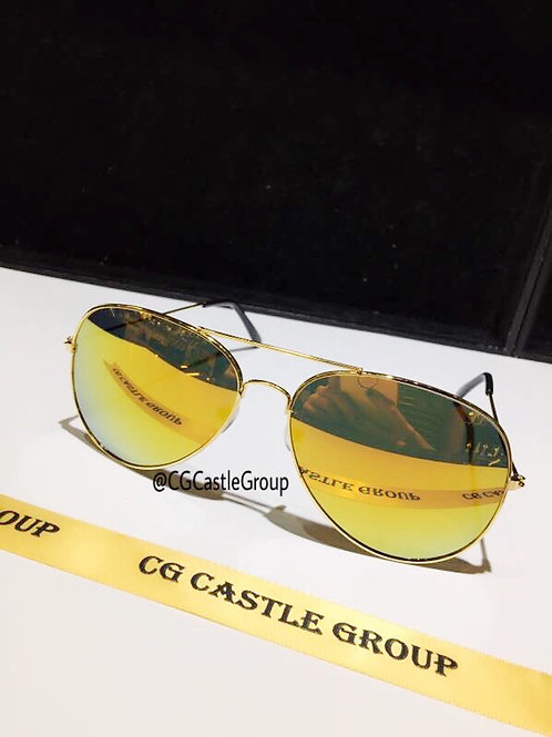 CG Adult Aviator Gold Frame/Gold Lens