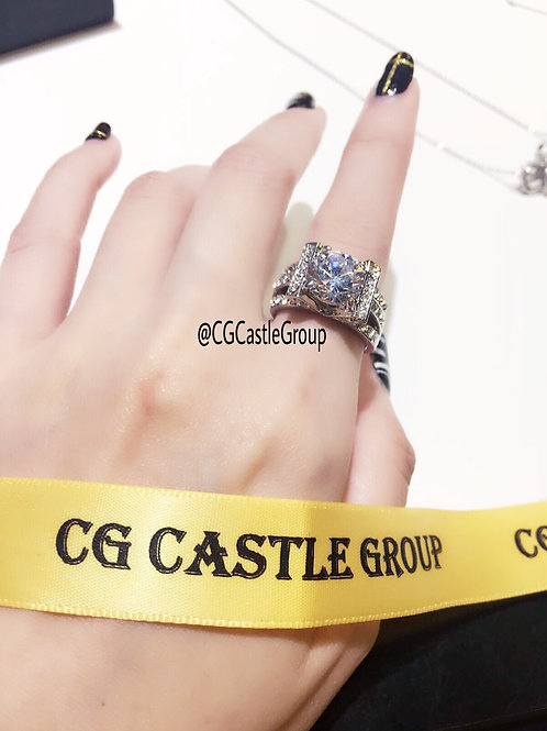 CG Big Effiel Tower Ring