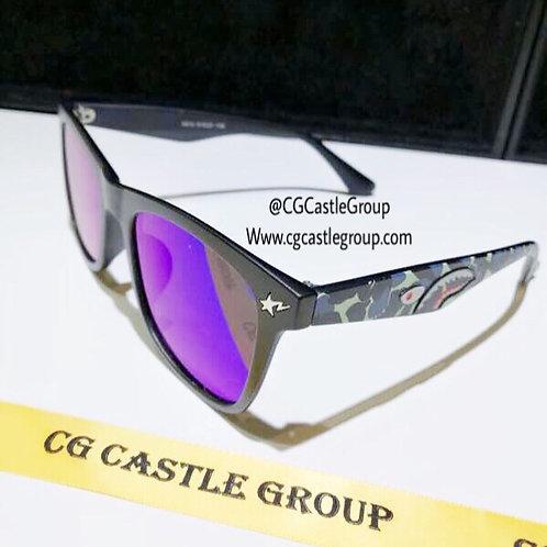 CG Adult Shark Wayfarer GreenBlue Lens/GreenBlue T