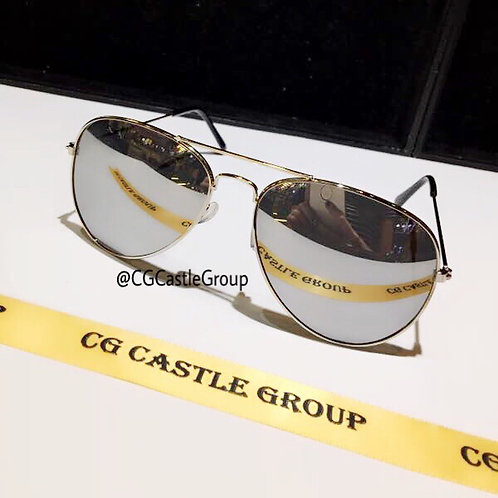 CG Adult Aviator Silver Frame/Silver Lens
