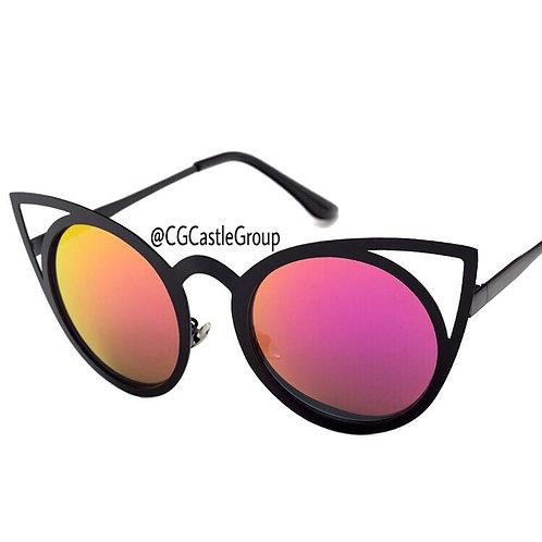 CG Adult Owl Black Frame Pink/Gold Lens