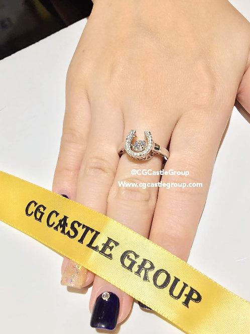 CASTLE HeartBeat U Shape Ring