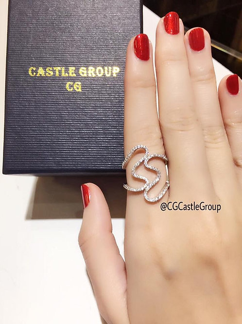 CG Double Heart ❤️ Ring