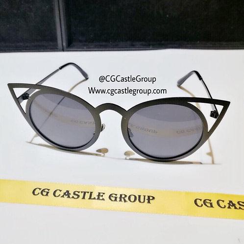 CG Adult Owl Sunglass Black Frame/Black Lens